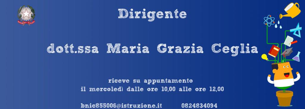 Dott.ssa Maria Grazia Ceglia
