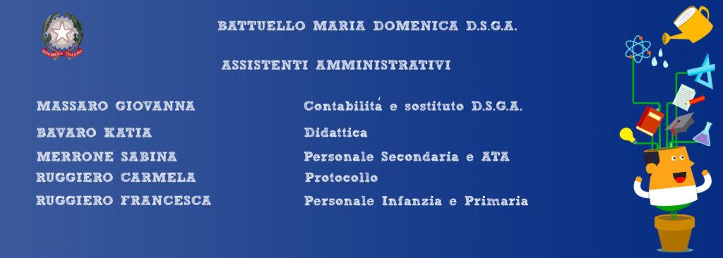 Personale Segreteria