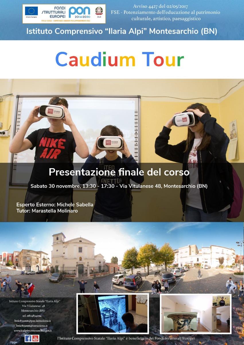 Manifestazione Finale Caudium Tour