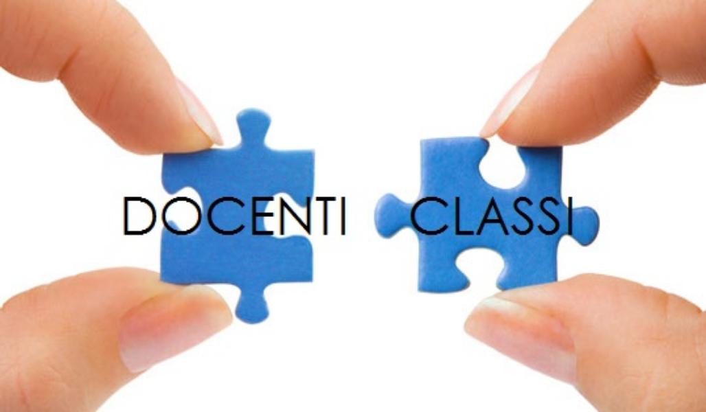 ELENCO DOCENTI  CLASSI SCUOLA SECONDARIA DI I GRADO