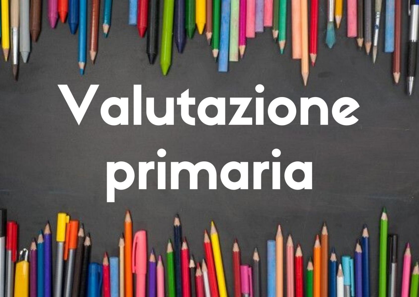Informativa sulla Valutazione nella scuola Primaria